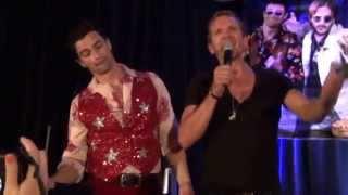Sebastian Roche gets Matt Cohen in the balls during Bohemian Rhapsody