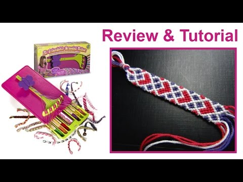 • Friendship Bracelet Loom Review + Hearty Pretzels Pattern •