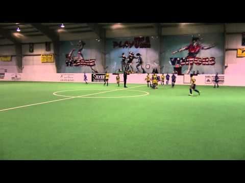 Bryce Blevins Winter Indoor Soccer Game (My Ronaldo / Messi) - Futbal ; Football