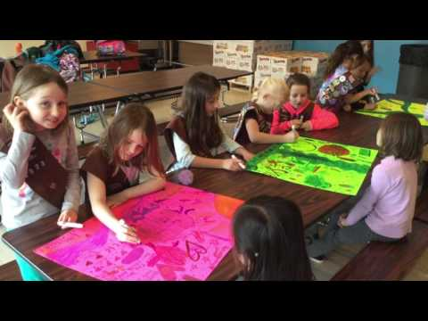 Girl Scout Troop 68235 World of Water Conservation Video