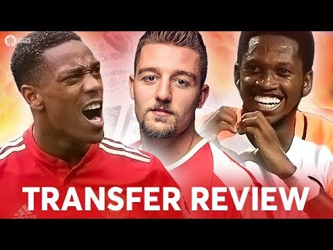 FRED, MILINKOVIC-SAVIC, MARTIAL! Manchester United Transfer News Review