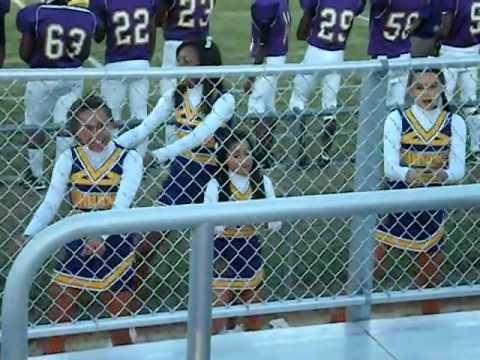 Furman Middle School cheerleaders