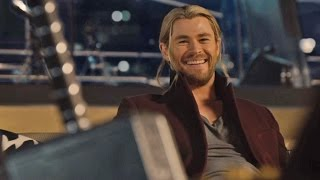 Lift the Hammer - Avengers 2: Age of Ultron | official FIRST LOOK clip (2015) Thor Hulk Iron Man