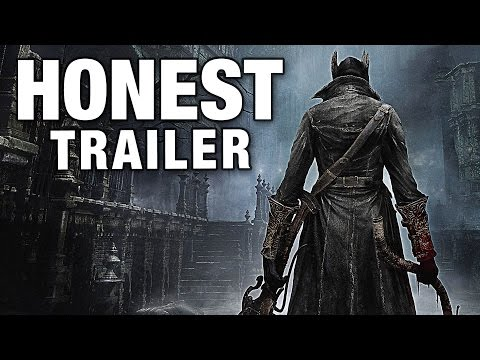 BLOODBORNE (Honest Game Trailers)