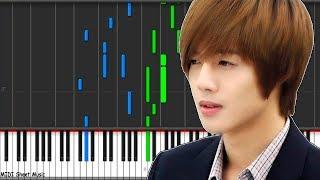 BOF - Because I'm Stupid (Kim Hyun Joong) Piano Tutorial