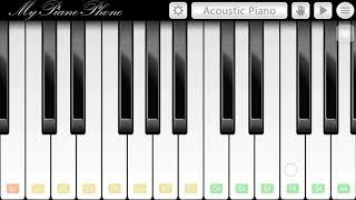 Maa Tujhe Salaam  Mobile Piano