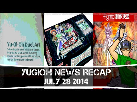 Yugioh News Recap 7 28 14 Art Book, Figures, & New Packs video