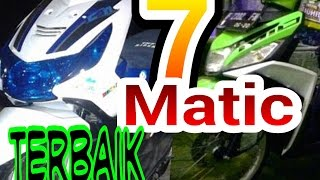 tujuh Motor matic terbaik di indonesia