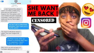 I Miss You Prank On Ex 💔 | She Said She Was Down to 😳 💦🍆....