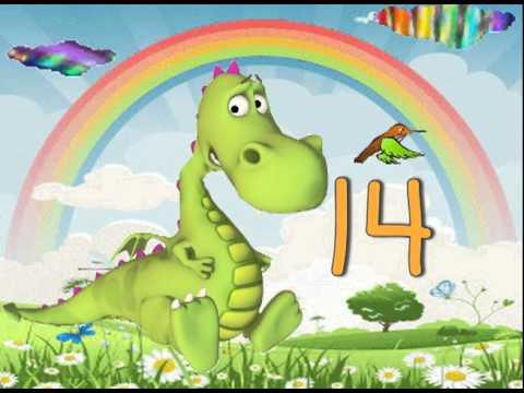 counting song 10-digits (kindergarten and early elementary math song) with lyrics