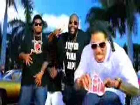 Tay Dizm - Beam Me Up Feat T-Pain&Rick Ross Official Video with lyrics