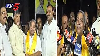 YSRC Leader Gangula Pratap Reddy Joins TDP | 9PM - Prime Time News