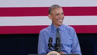 The President Speaks on the Economy in Detroit