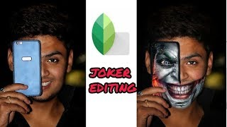 PicsArt Joker Mobile Photo Editing Tutorial in Picsart Step by Step in Hindi - Viral instagram edit