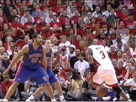 Heat vs. Pistons - 2005 ECF Game 7 Highlights (TNT)