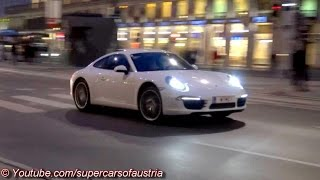 Porsche 911 Carrera S - Hard Accelerations, Revs and Drifts!