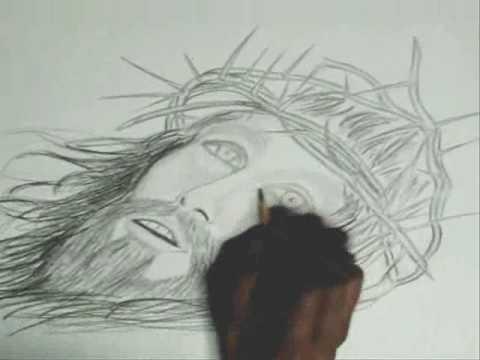DIBUJANDO A CRISTO.wmv - YouTube
