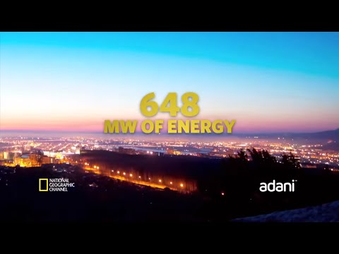 National Geographic Megastructures featuring Adani's Solar Power Plant.