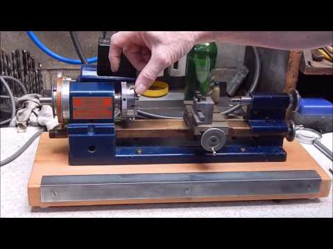 I get fired up over my Sherline metal lathe