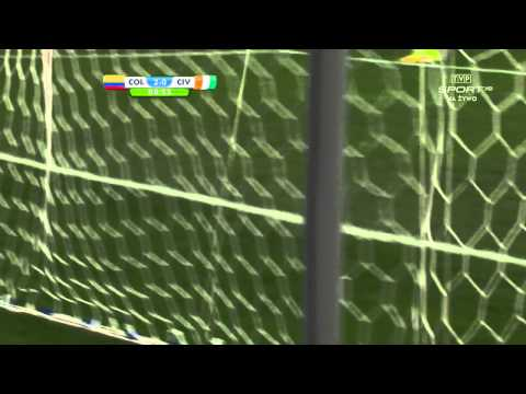 World Cup 2014 Group C Colombia vs Ivory Coast 2014 All Goals/Kolumbia - WKS