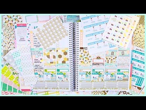 Plan with Me! June 2015 // #JuneBloom Day 8!