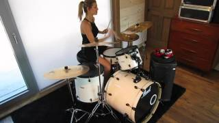 Arctic Monkeys - The View From the Afternoon drum cover (short version - end only)