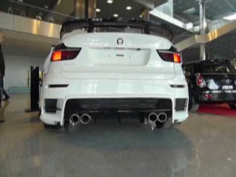 TURN UP YOUR SPEAKERS!! BMW X6M lumma exhaust.