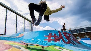 Skateboard Parkour 2.0 - Streets of Brussels!