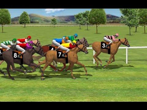 Carreras de caballos, Dibujos Animados Para Niños