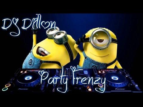 DJ DILLON - PARTY FRENZY (HIP HOP, RNB, DANCEHALL & SOCA MIX)