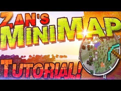 Zans MINIMAP 1.7.10 INSTALLATION ▣ VoxelMap 1.7.10 Mod ▣ Deutsch German Mac + Win Minecraft 1.7.10