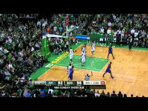 Nba new york knicks vs boston celtics recap 03042012 rondo 3d