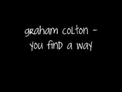 Graham Colton - You Find a Way