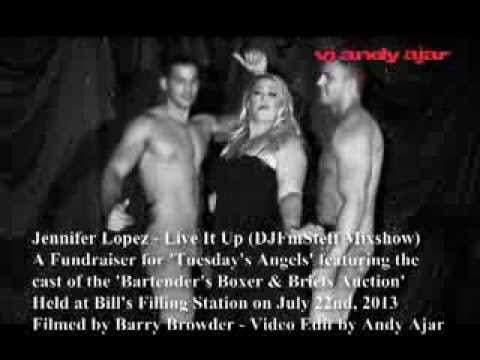 Bartenders Boxer and Briefs - Live It Up (Boxer Brief Version by Andy Ajar)