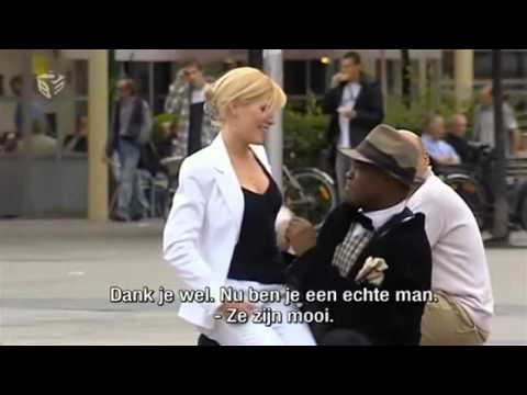 Hot Girl Asks Guys On The Street To Touch Her Breasts.flv video