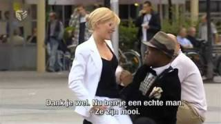 Hot Girl Asks Guys On the Street to Touch Her Breasts.flv