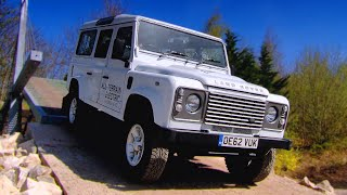Electric Defender Land Rover - Fifth Gear