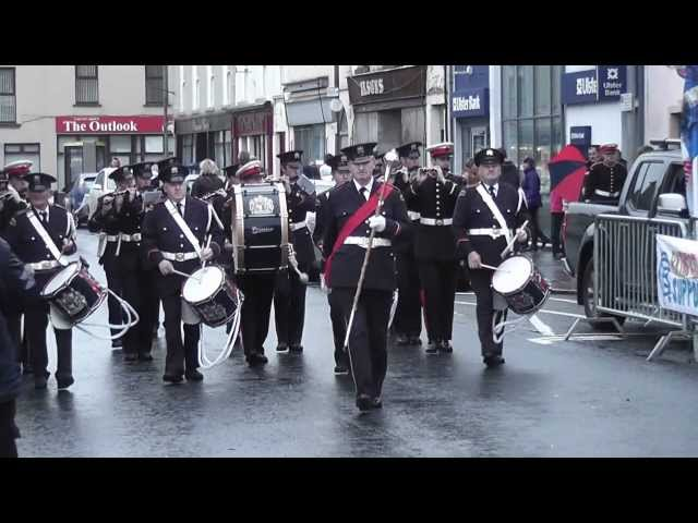 Grallagh Unionist FB @ Pride Of The Hill FB Parade 2012