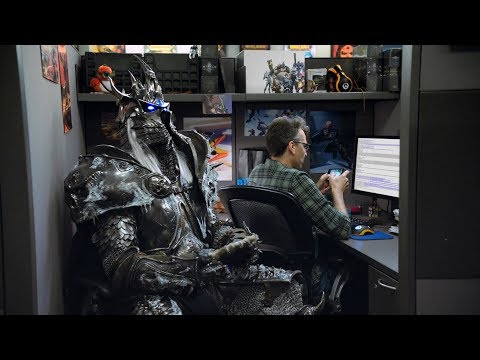 Hearthstone: The Lich King at Blizzard. Part 1