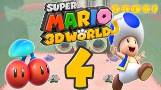 Let's Play Super Mario 3D World Part 4: Last but not least - Toad!