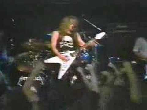metallica - metal militia(1983 - live with cliff burton)