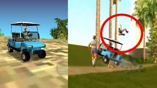 GTA Vice City Secret Vehicle Location Caddy Export Mission