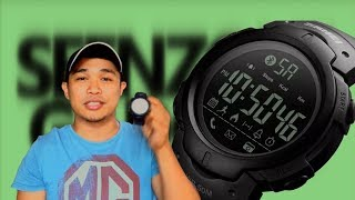 SKMEI SMART WATCH REVIEW!! CHEAPEST AND TOUGH!!