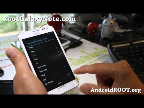 LiquidSmooth Jelly Bean ROM for Rooted AT&T Galaxy Note SGH-i717!
