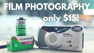 CHEAP CAMERA CHALLENGE | Kodak KE30 + Fujifilm C200