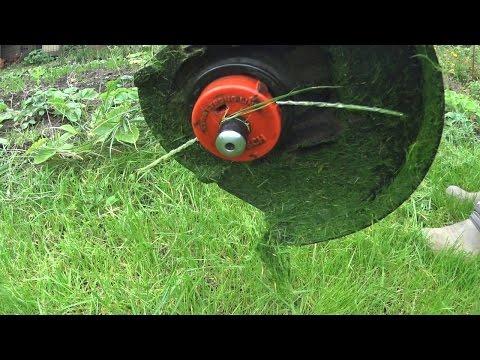 Бесплатная леска для триммера / DIY rope for lawn trimmer