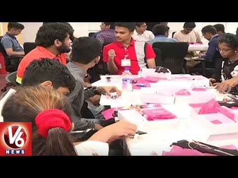 Google Conducts Summer Camp For Children In Hyderabad | Summer With Google | V6 News