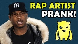 Rap Artist Booking PRANK! - Ownage Pranks