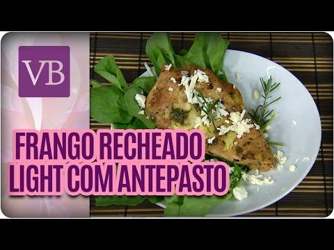 Você Bonita - Filé de Frango Recheado Light com antepasto de berinjela (01/02/16)