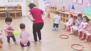 Lớp Nemo 2 Vinschool NCT - vận động: Nhảy vào vòng